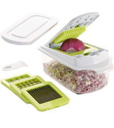 Brieftons BR-QP-02 QuickPush Food Chopper