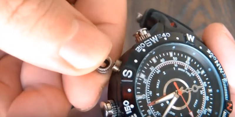 Detailed review of Paishida PSD-DV-8G-T19-B-BD300 Waterproof Watch with Hidden Camera