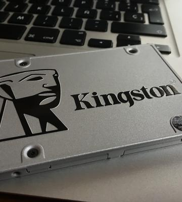 Review of Kingston UV400 SSD Drive