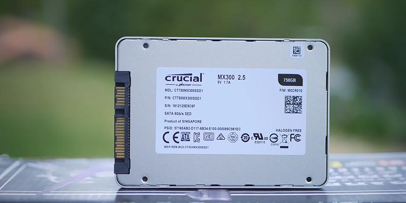 Detailed review of Crucial MX300 SSD Drive