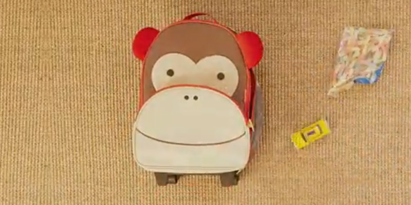 Review of Skip Hop Monkey Kids Zoo Luggage