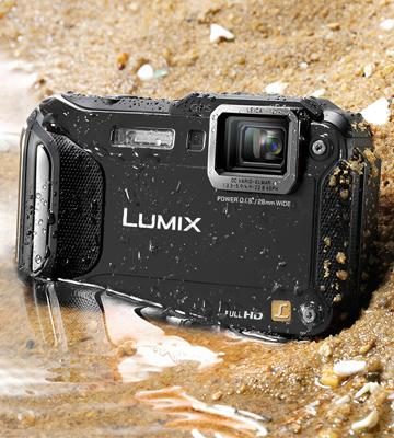 Review of Panasonic Lumix DMC-FT5EB-K Compact Waterproof Camera