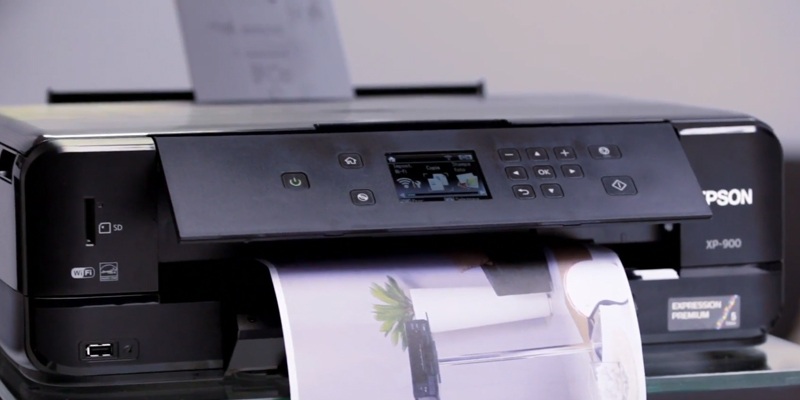 Review of Epson XP-900 Expression Premium A3 Wi-Fi Printer, Scan and Copy with CD/DVD Printing