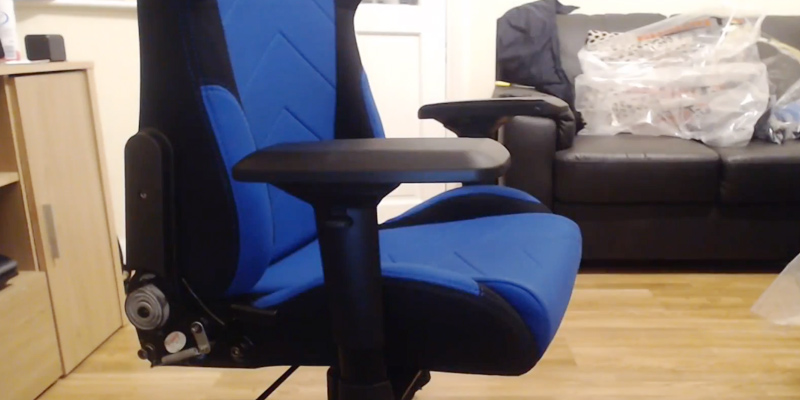 GT Omega Racing Pro Office Chair Gaming Chair with Lumbar Support in the use