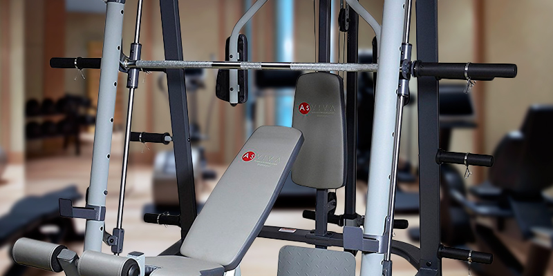 AsVIVA MS2 Multi Bench in the use