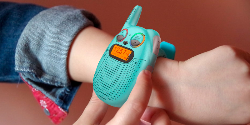 Review of QNIGLO Q136 2-Pack KidsWalkie-Talkies with FM Radio