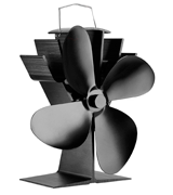 LUMAMU 4-Blade Stove Fan Upgrade Silent Operation