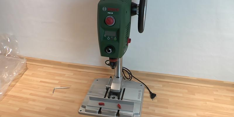 Review of Bosch PBD 40 Bench Drill Press