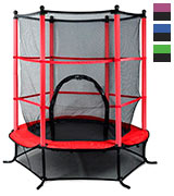 Beyondfashion Junior Kids Trampoline (p8032) Outdoor Activity Fun With Safety Net