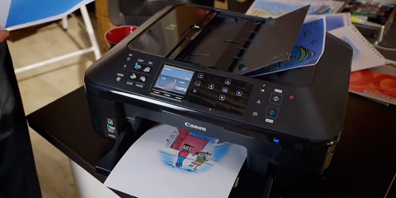 Detailed review of Canon MX725 A4 Inkjet