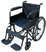 Pandamoto Self-Propelled Puncture Resistant Folding Portable Wheelchair