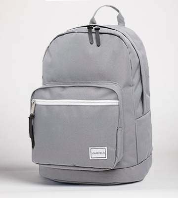 Review of Markfield Grey Hard Wearing Backpack with Laptop Compartment