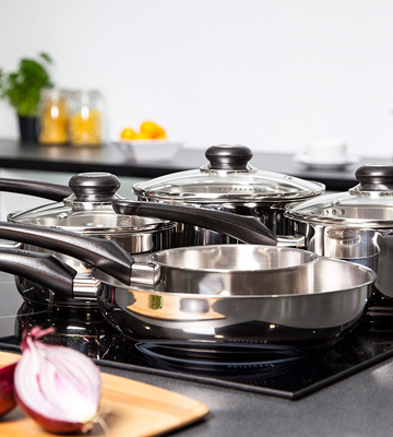 Review of Morphy Richards Equip 5-Piece Stainless Steel Pan Set