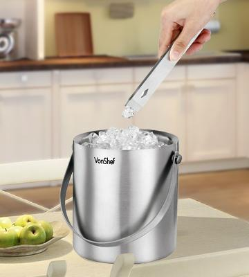 Review of VonShef Double Walled Ice Bucket, 2 Litre