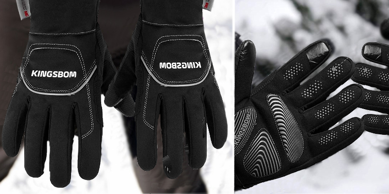 Review of KINGSBOM Waterproof & Windproof 3M Thinsulate Thermal Gloves