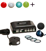 Dolphin DPS400 Reverse Parking Sensors Auto Express Award Winning In 32 Colours With 4 Ultrasonic Radar Sensors Kit Audio Alert System Matt & Gloss Black +30 More Colours