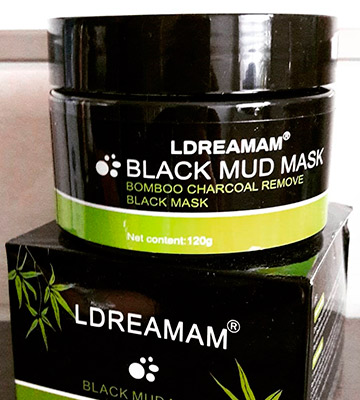 Review of LDREAMAM Black Mud Charcoal Face Mask