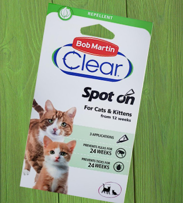 Review of Bob Martin Clear 24 Weeks Repellent Protection Flea and Tick Spot for Cats
