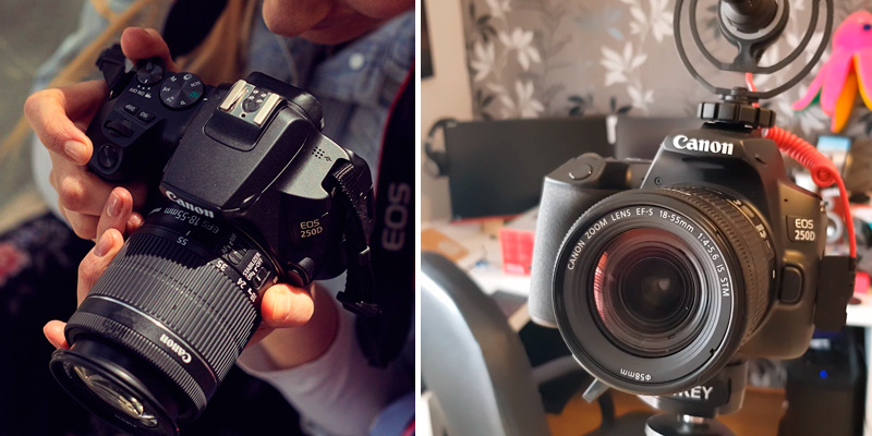 Review of Canon EOS 250D DSLR Camera + EF-S 18-55mm f/4-5.6 IS STM Lens