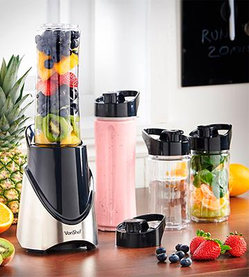 Review of VonShef 13/159 Mini Smoothie Maker & Shake Mixer