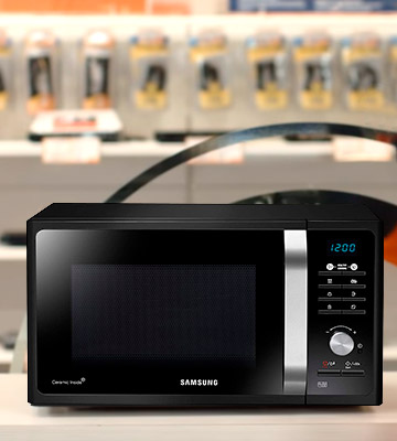 Review of Samsung MS23F301TAK/EU Solo Microwave