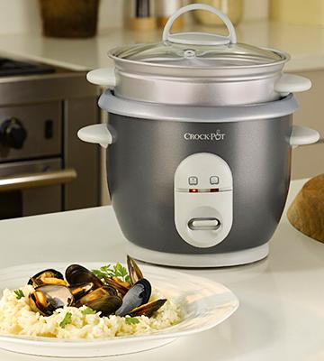 Review of Crock Pot CKCPRC4726-060 Small Rice Cooker, 0,6 Litre