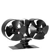 CRSURE Fireplaces 8 Blade Stove Fan