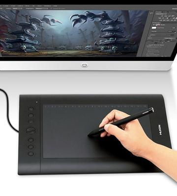 Review of Huion H610 Pro Graphics Drawing Pen Tablet