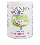 Nannycare First Infant Milk Goat milk based