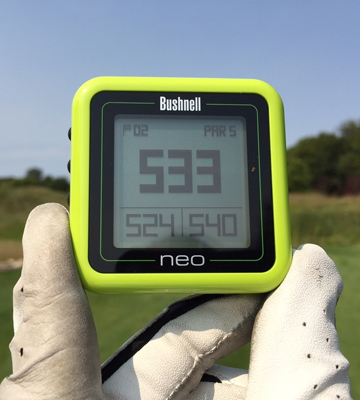 Review of Bushnell Neo Ghost Golf GPS RangeFinder