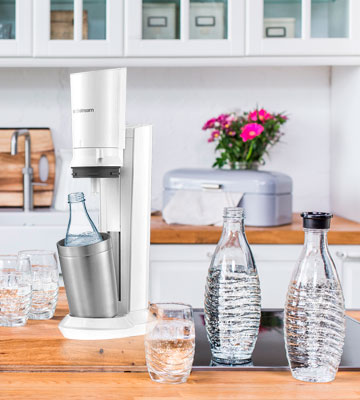 Review of SodaStream Crystal 2.0 Glass decanter drinking water carbonator