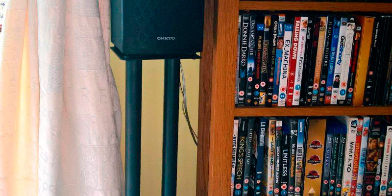 Review of Duronic SPS1022-40 Speaker Stands Metal Base