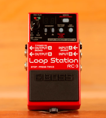 Review of BOSS AUDIO RC-3 Loop Station