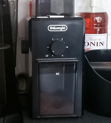 Review of Delonghi Professional Burr Coffee Grinder