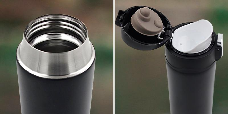 Review of Kooyi Vacuum Insulated Travel Coffee Mug