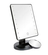 H&S LED Illuminated Cosmetic Mirror Makeup Mirror with Light