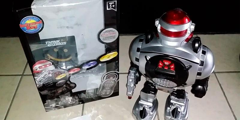 Review of Thinkgizmos Remote Control Robot - Fires Discs, Dances, Talks