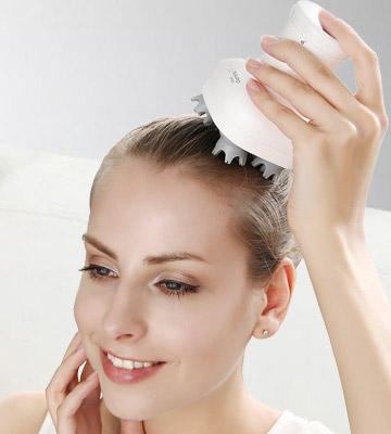 Review of Naipo Electric Waterproof Scalp Massager Deluxe Head Massager with Face Brushes