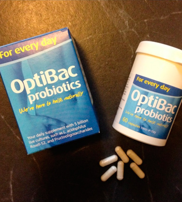Review of OptiBac Pack of 30 Capsules Probiotics For every day
