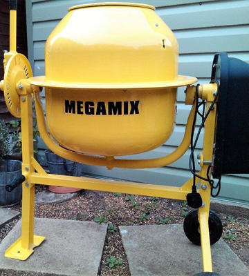 Review of Megamix CM70 70L, 240v 250W Electric Portable Concrete