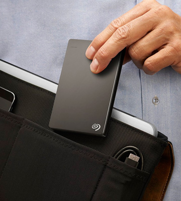 Review of Seagate Backup Plus Slim Portable External Hard Drive