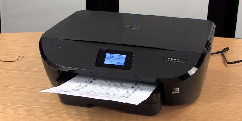 HP Envy 5540 All-in-One Inkjet Printer in the use