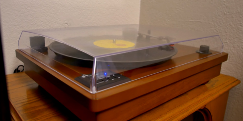 Review of 1byone 471UK-0002 Vintage Style Bluetooth Turntable, Natural Wood