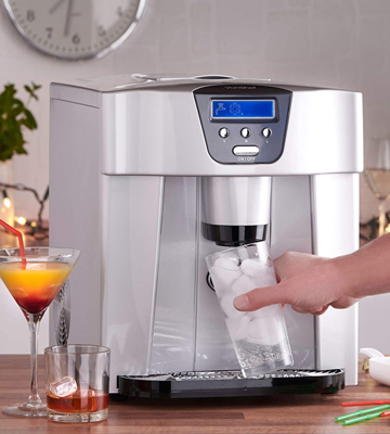 Review of VonShef 13/101 Digital Ice Maker/Dispenser Machine with LCD Display