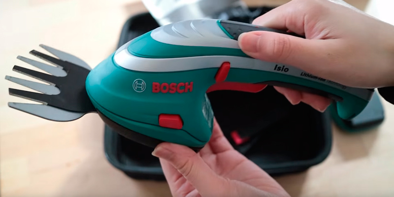 Review of Bosch Isio Cordless Shrub/Grass Shear