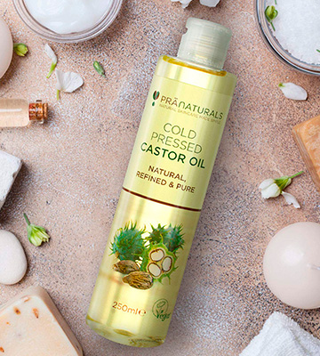 Review of PraNaturals Cold Pressed Castor Oil