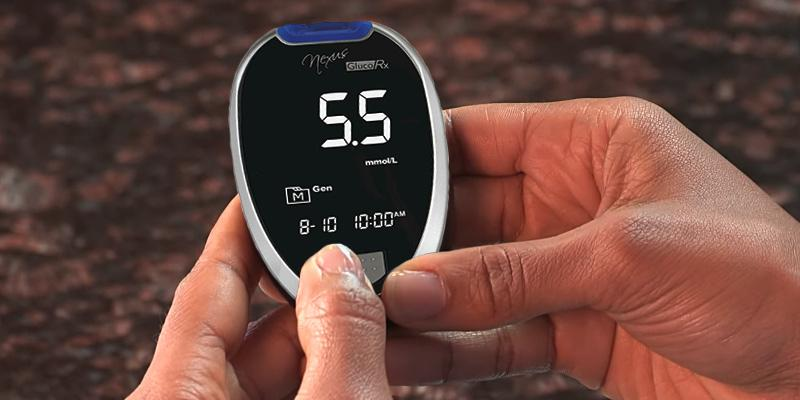 Review of GlucoRx Nexus TD-4277 Blood Glucose Monitoring System Kit
