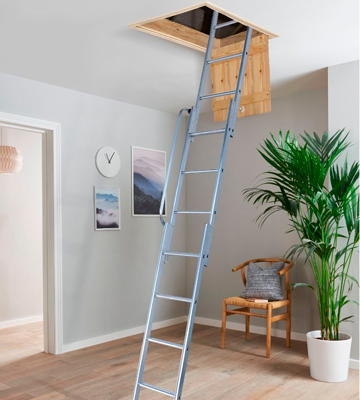 Review of Youngman 313340 Easiway Aluminium 3-Section Loft Ladder