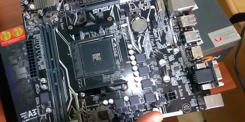 Review of ASUS PRIME A320M-K Motherboard