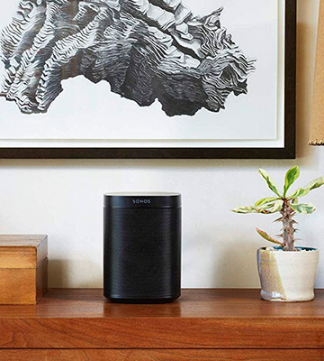 Review of Sonos One (Gen 2) Voice Assistant Smart Speaker with Amazon Alexa